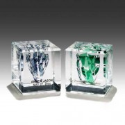 Square Wedding Glass Lucite Cubes