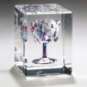 Wedding Lucite Rectangular Cube