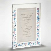 Wedding Lucite Invitation