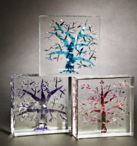 Tree of Life Lucite Keepsake