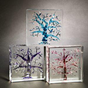 Tree of Life Lucite Keepsake